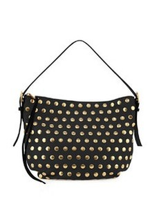 Nomad Studded Hobo Bag, Black   Nomad Studded Hobo Bag, Black
