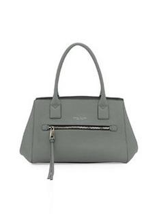 Not So Big Apple Tote Bag, Gray-Green   Not So Big Apple Tote Bag, Gray-Green