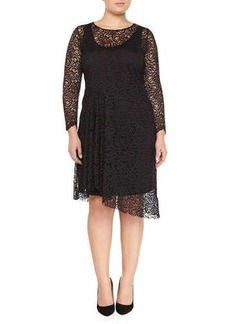 Marina Rinaldi Decibel Lace Dress, Women's