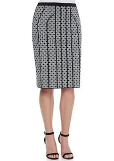 Marina Rinaldi Gange Printed Jacquard Skirt, Women's