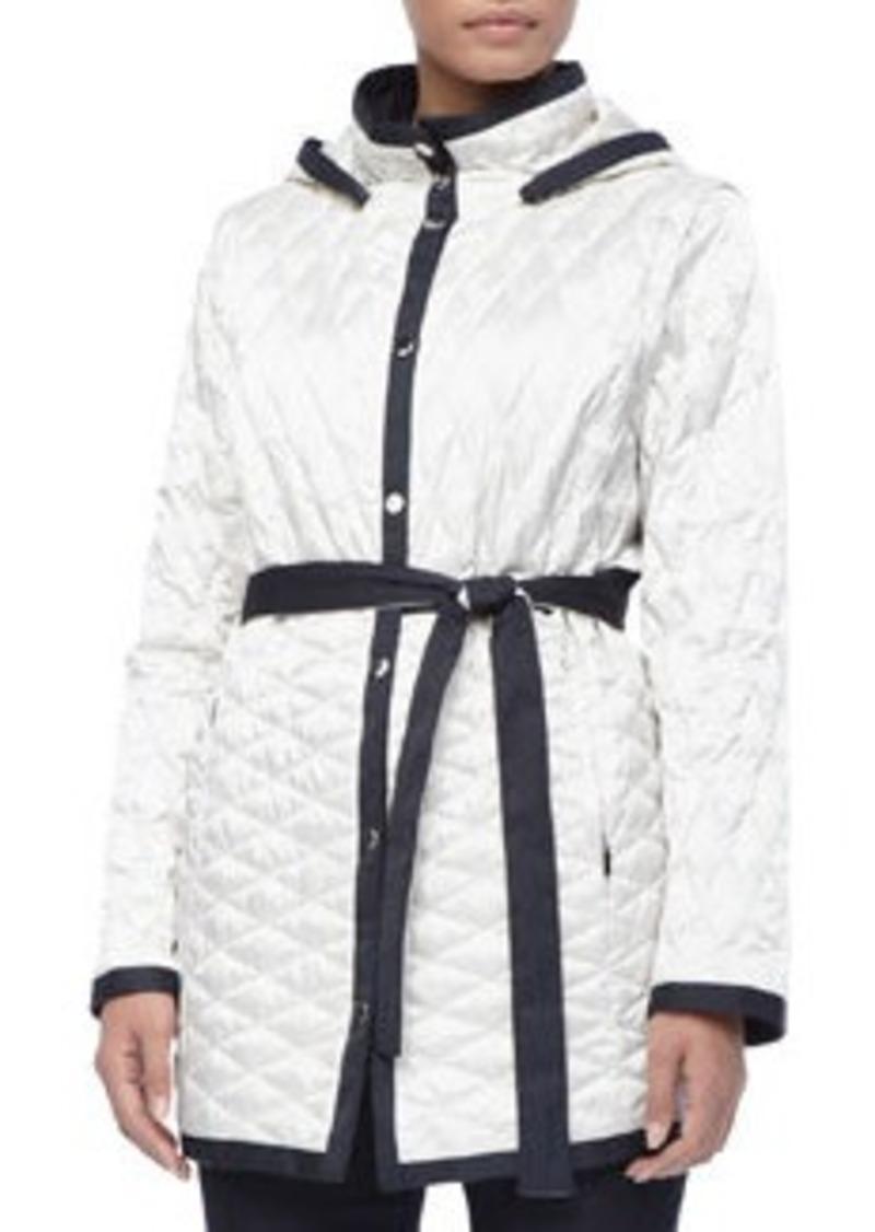 Marina Rinaldi Genova Two-Tone Quilted Jacket, Women's