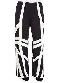 Marina Rinaldi Geometric Printed Pants, Women's