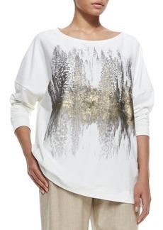 Marina Rinaldi Jersey Sequined Sweatshirt, Women's