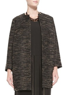 Marina Rinaldi Long Textured Jacket, Women's