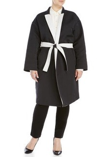 marina rinaldi Plus Size Belted Trench