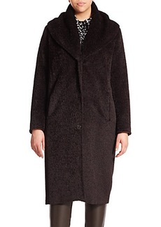 Marina Rinaldi, Plus Size Telefilm Alpaca & Wool Coat