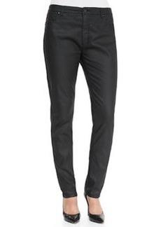 Marina Rinaldi Ribelle Slim-Leg Wax Denim Jeans, Women's