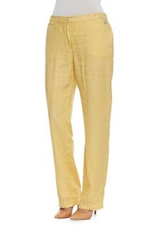 Marina Rinaldi Rigore Linen Pants, Women's