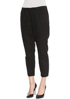 Marina Rinaldi Romolo Black Skinny Pants, Women's