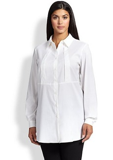 Marina Rinaldi, Sizes 14-24 Bardo Poplin Shirt
