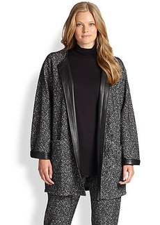 Marina Rinaldi, Sizes 14-24 Capriolo Printed Jacket