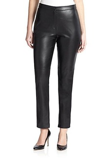 Marina Rinaldi, Sizes 14-24 Coated Slim Pants
