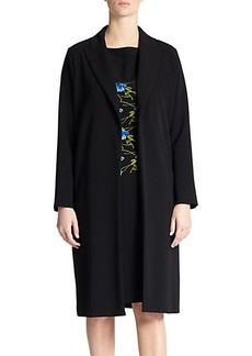 Marina Rinaldi, Sizes 14-24 Crepe Comfort Coat