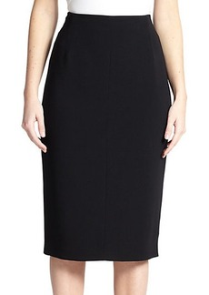 Marina Rinaldi, Sizes 14-24 Crepe Straight Skirt