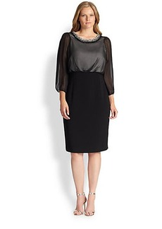 Marina Rinaldi, Sizes 14-24 Decuria  Dress