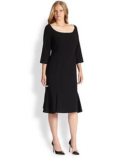 Marina Rinaldi, Sizes 14-24 Devoto Dress