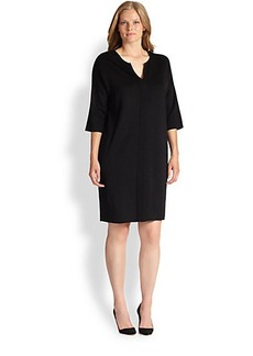 Marina Rinaldi, Sizes 14-24 Gea Knit Dress