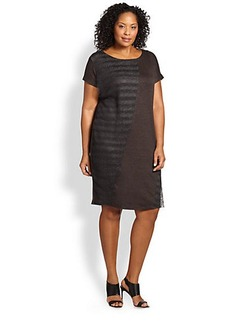 Marina Rinaldi, Plus Size Jersey Stretch Tunic Dress