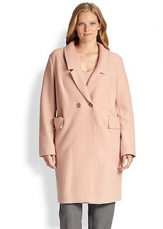 Marina Rinaldi, Sizes 14-24 Notizia Wool Coat