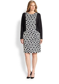 Marina Rinaldi, Sizes 14-24 Opus Tech Jersey Dress