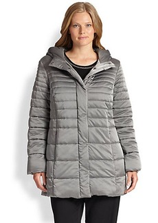 Marina Rinaldi, Sizes 14-24 Plutone Metallic Down Jacket