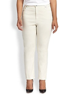 Marina Rinaldi, Sizes 14-24 Rosatea High-Waist Jeans