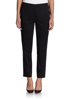 Marina Rinaldi, Sizes 14-24 Stretch Cotton Pants