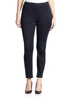 Marina Rinaldi, Sizes 14-24 Stretch Denim Leggings