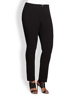Marina Rinaldi, Sizes 14-24 Zip-Front Pants