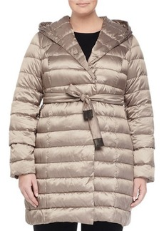 Marina Rinaldi Zermatte Quilted Belted Travel Jacket