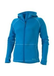 Marmot Power Stretch Zip Hooded Fleece Jacket - Women's