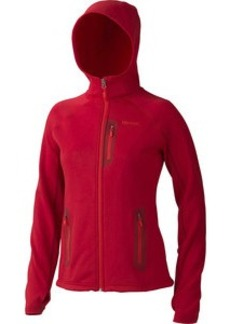 Marmot Stretch Fleece Hooded Jacket - Women's