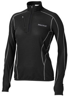 Marmot Thermo Fleece Pullover Shirt - Zip Neck, Long Sleeve (For Women)
