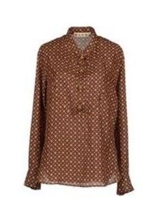 MARNI - Silk shirt and top