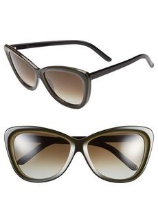 Marni '269' 60mm Cat Eye Sunglasses