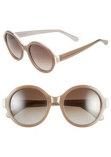 Marni 54mm Round Sunglasses