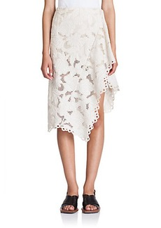 Marni Asymmetrical Lace Skirt
