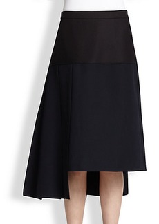 Marni Asymmetrical Wool Skirt