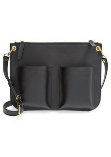 Marni 'Bandoleer' Leather Crossbody Bag