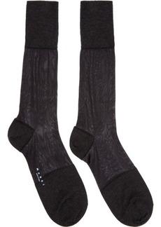 Marni Black Cashmere & Silk Socks