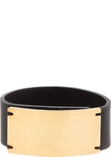 Marni Black Leather Cuff