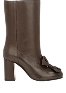 Marni Bow-Embellished Mid-Calf Boots