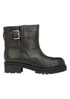Marni Buckle-Strap Moto Boots