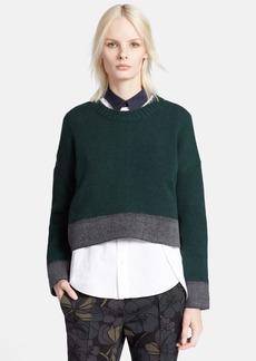 Marni Button Back Cashmere Blend Sweater