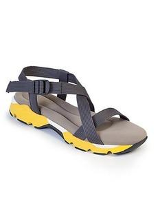 Marni Canvas & Rubber Flat Sandals
