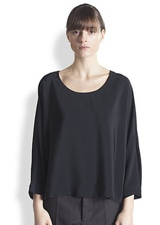 Marni Cape-Sleeve Blouse