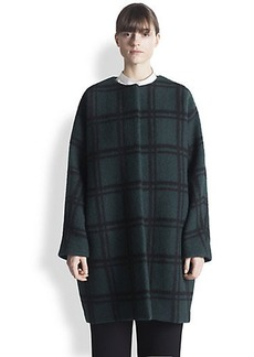 Marni Checked Wool Coat
