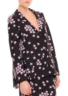 Marni Cherry Blossom Pleat-Back Jacket