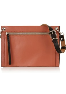 Marni Color-block leather shoulder bag