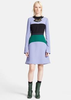 Marni Colorblock Compact Cady Dress
